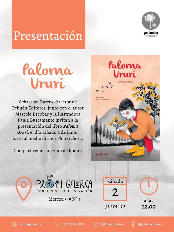 Presentación Paloma Ururi de Pehuén Editores